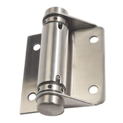 209 Hinges Spring Each Satin Stainless Steel Welcome