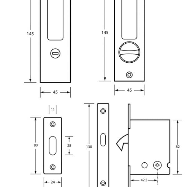 how to draw a door in autocad