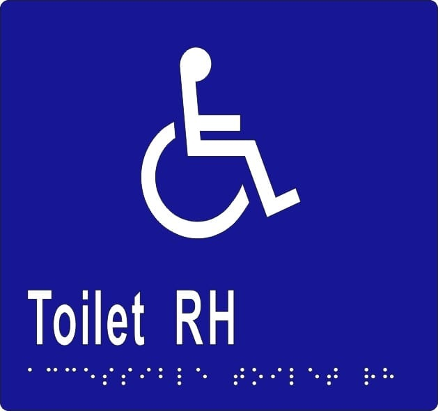 Ml16271v06 Accessible Toilet Rh Braille Blue With White