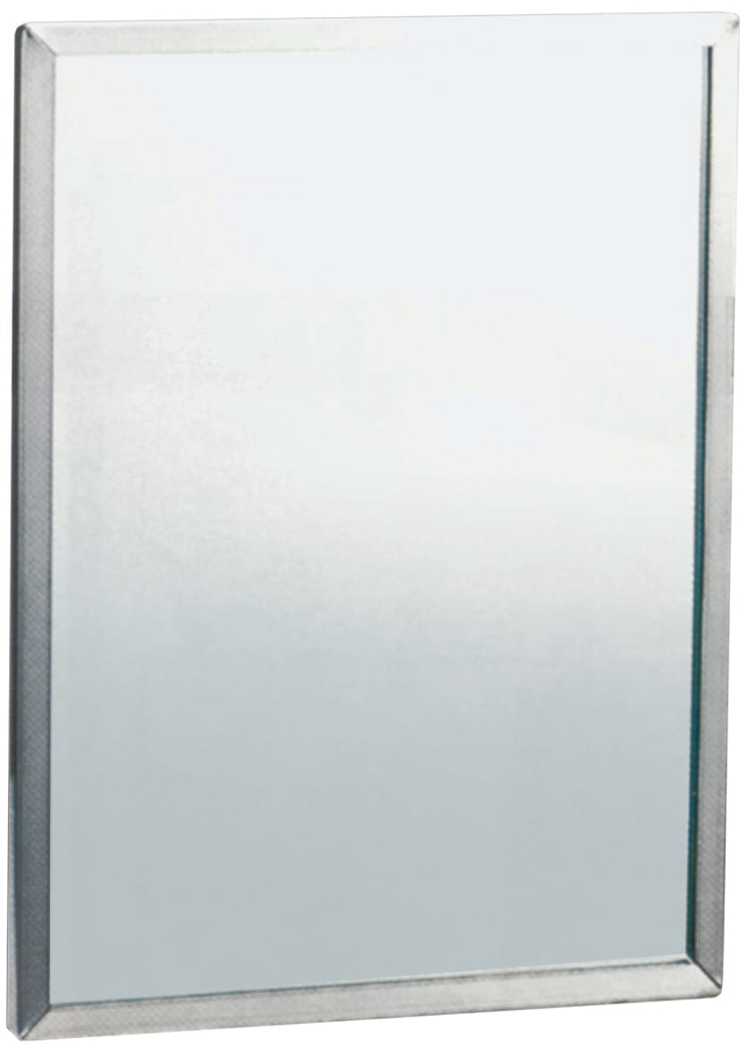 Ml771 6 600 X 1000 Framed Mirror With 6mm Vinyl Backed