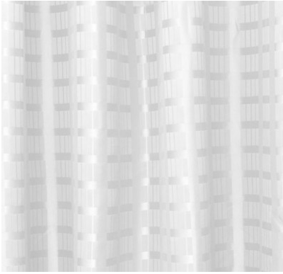 Sale Box Striped Polyester Shower Curtain 1800mm Drop 1500m X 1800m